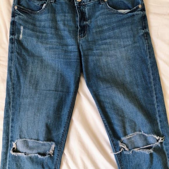 Garage Denim Girlfriend Jeans